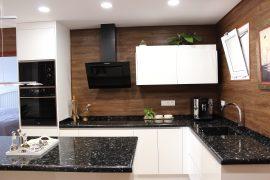 Luxury Kitchen with an Island & Granite Countertop, Torvisca Alto, Costa Adeje