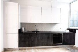 Minimalist Kitchen for New Build Villa at Las Torres, Adeje
